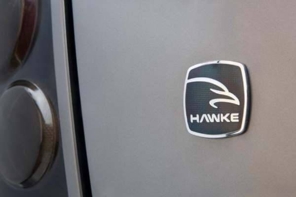 Range Rover Vogue 'HAWKE' Vitreous Enamelled Badge
